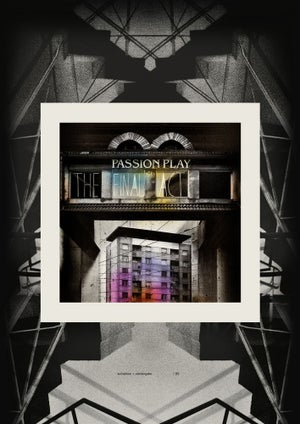 Image of [a+w dis004] Passion Play Poster by Disturbanity (signed by Justin Stephens)