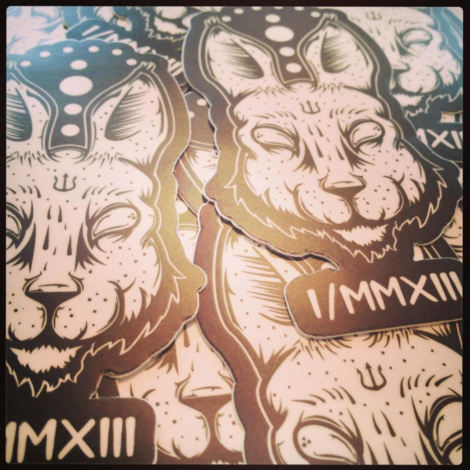 "Image of ""Redux"" Limited Edition Sticker"