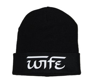 Image of Wife beanie BLACK
