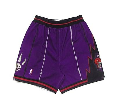 Image of Authentic Toronto Raptors Shorts