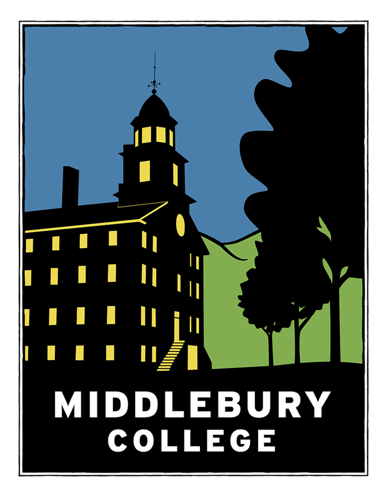 Image of Middlebury College Old Chapel Print