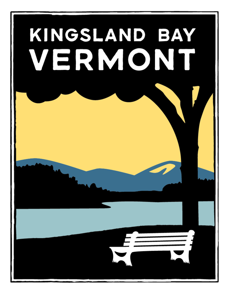 Image of Kingsland Bay Vermont Print