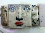 Image of Face Pendant Bracelet