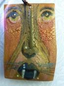 Image of Predatory Cat Face Pendant