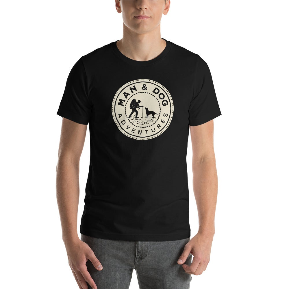 Man and Dog Adventures Unisex T-Shirt