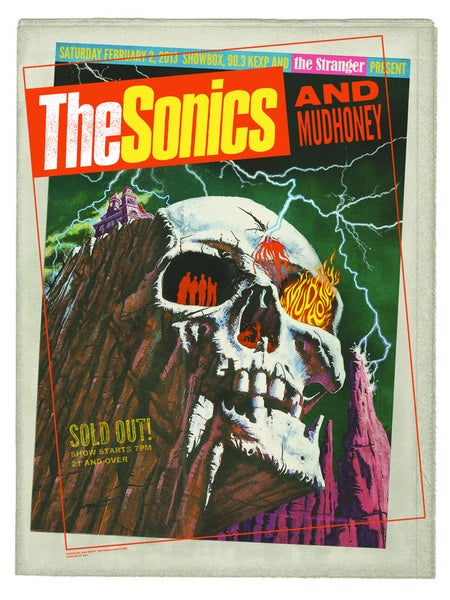 Image of THE SONICS and Mudhoney!!
