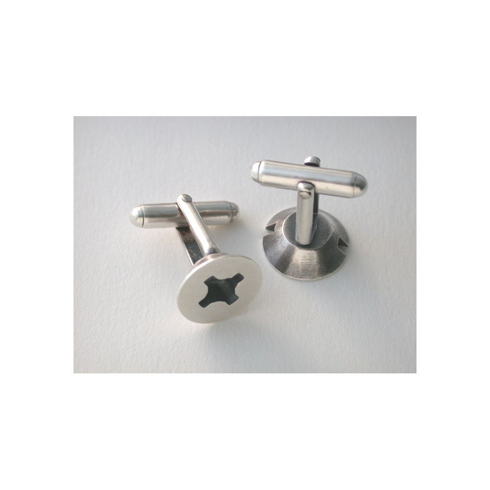 Image of screw cufflinks