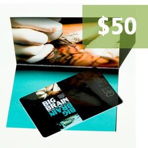 $50.00 Big Brain Gift Card
