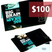 Image of $100.00 Big Brain Gift Card