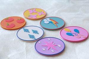 Elements of Harmony Coasters!