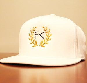 Image of White Snapback Hat