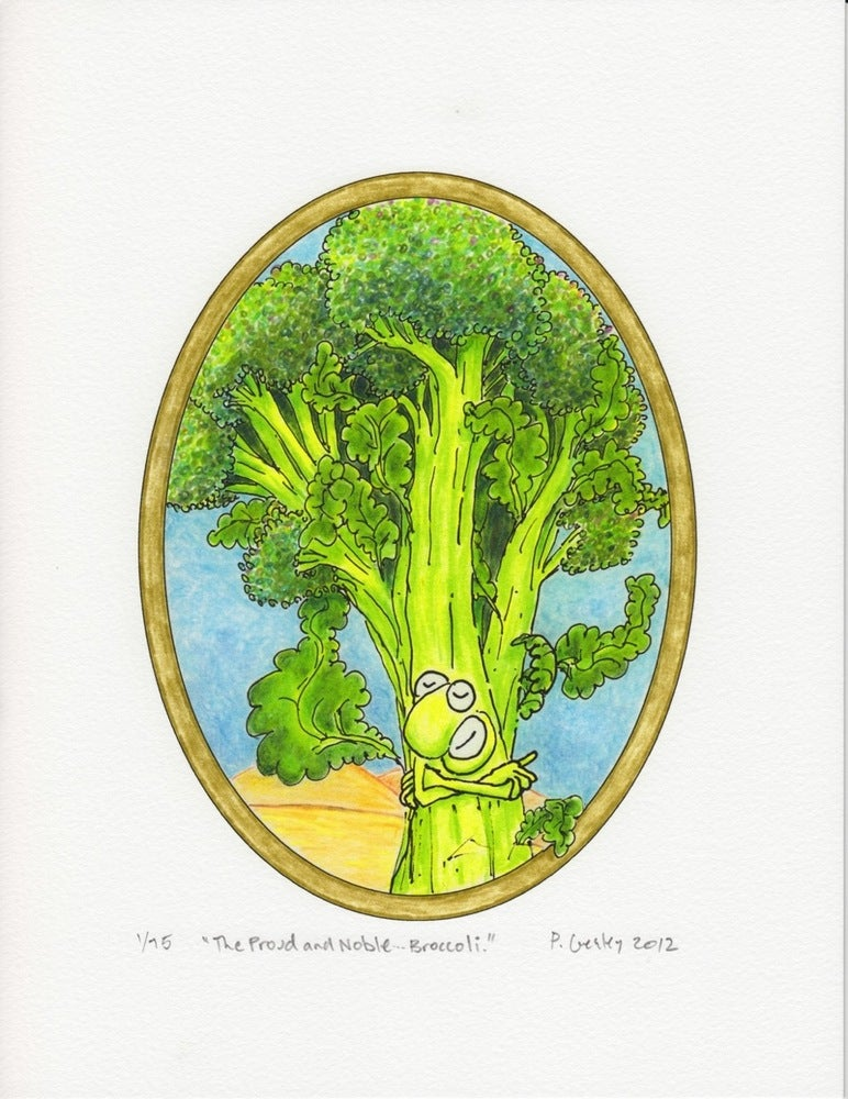 "Image of ""The Proud and Noble... Broccoli"""