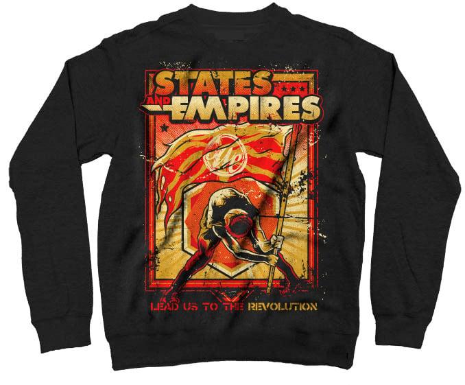 Image of Revolution crew neck sweater