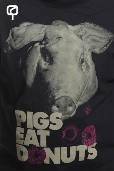 Image of PIGS EAT DONUTS