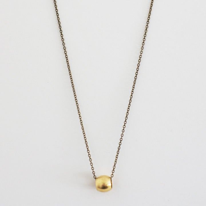 sterling necklace curved dp tube gold delicate amazon thin com fill bar everyday layering
