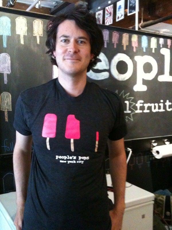 Image of people's pops t-shirt