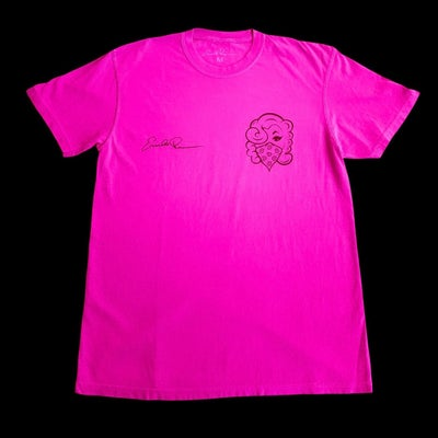 Image of Signature Tee (HOT PINK)