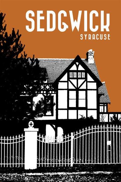 Image of sedgwick neighborhood print