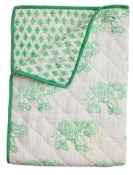 Image of Baby Blanket (Green)