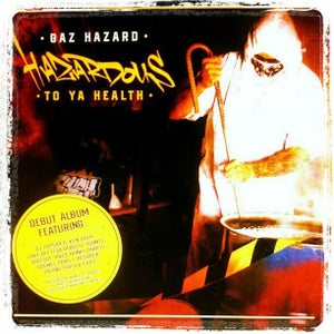"Image of GAZ HAZARD ""HAZARDOUS TO YA HEALTH"" CD"