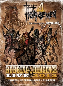 "Image of DVD ""Robbing Diligence Live 2012"" + Poster ""2013"""