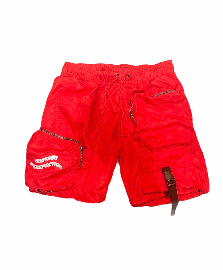 Image of Red Wave-Tech Shorts
