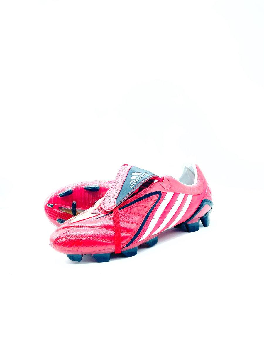 Image of Adidas Predator Powerswerve FG red