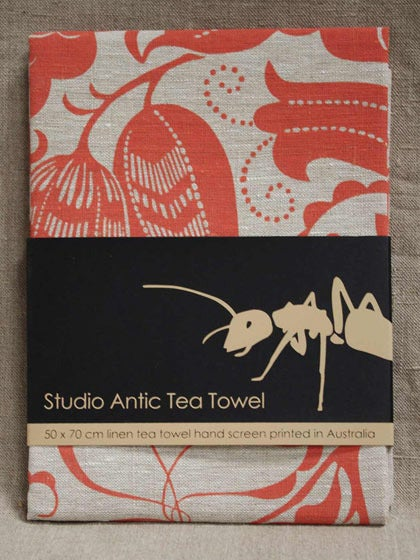 Image of Art Deco Tea Towel