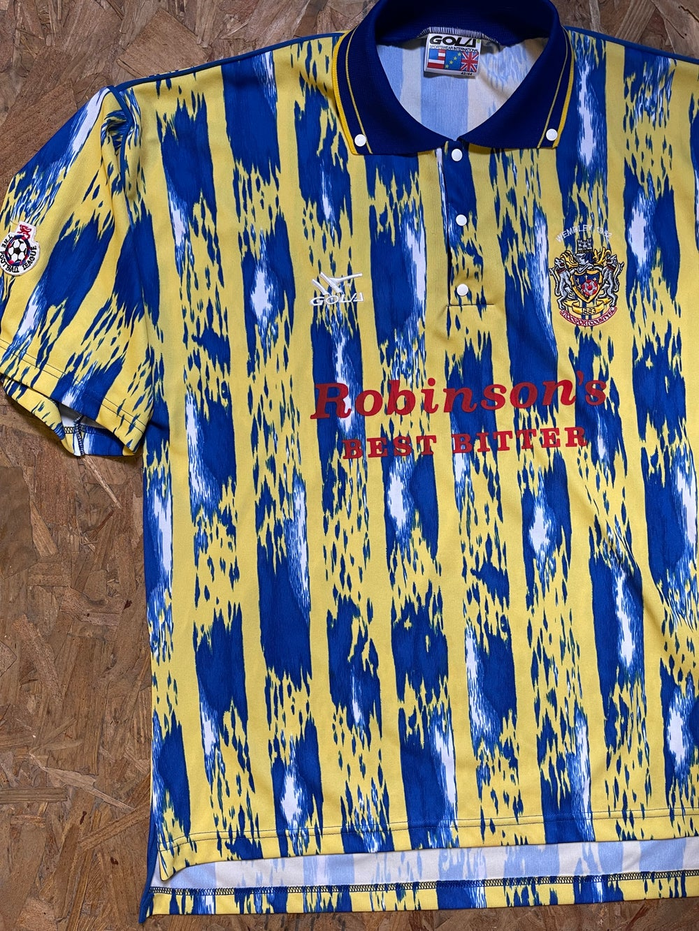 Player Issue 1992 Play Off Final Shirt