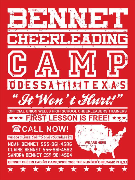 Bennet Cheerleading camp {f}