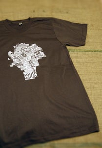 Image of city map T-shirt