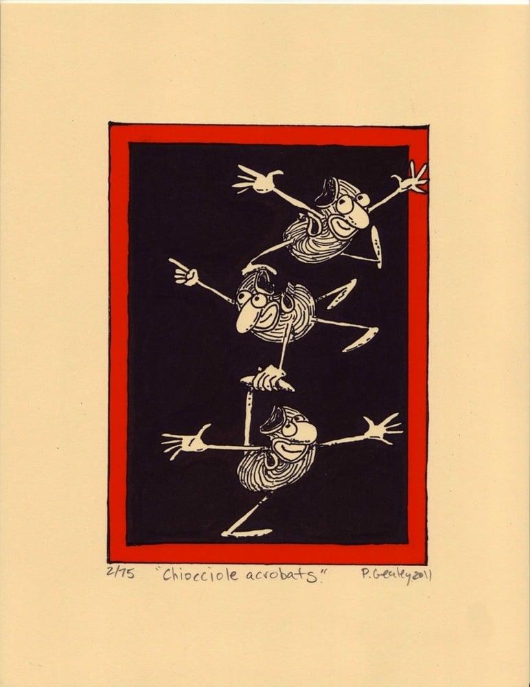 "Image of ""Chiocciole Acrobats"""