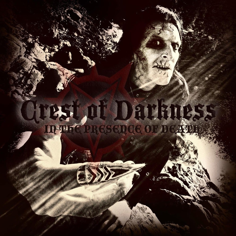"""CREST OF DARKNESS """"In The Presence Of Death"""" CD / LP"""