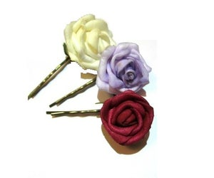 Image of Those Rose Hair Slides