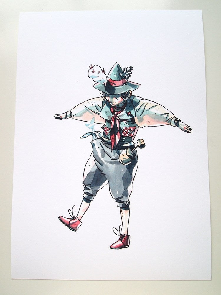 Image of Jack - Giclee print