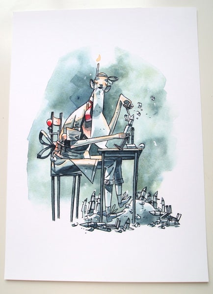 Image of Geppetto - Giclee print