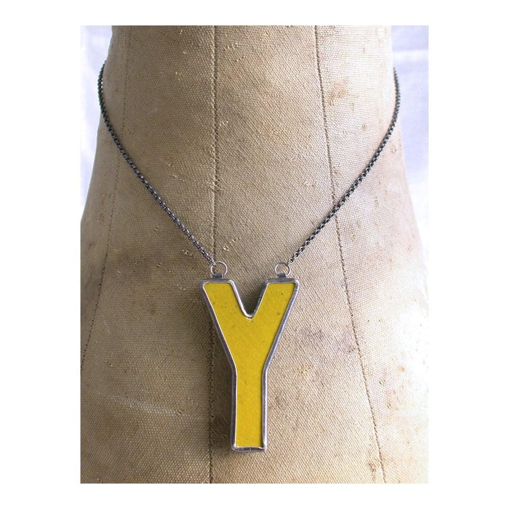 Image of Y necklace
