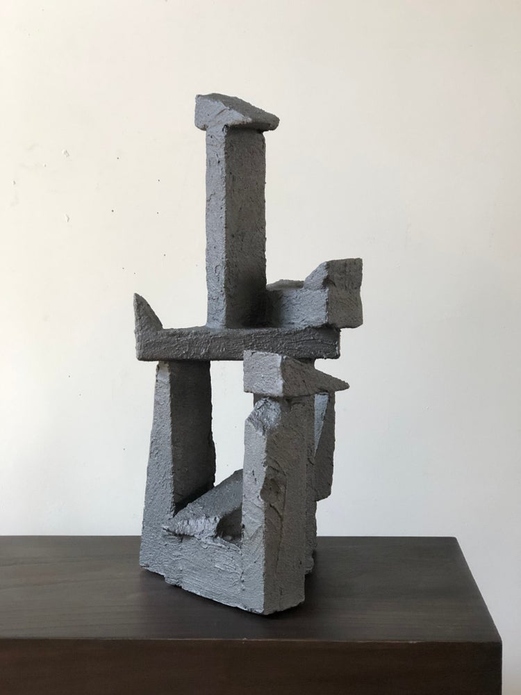 Image of brutalist sculpture (stone)