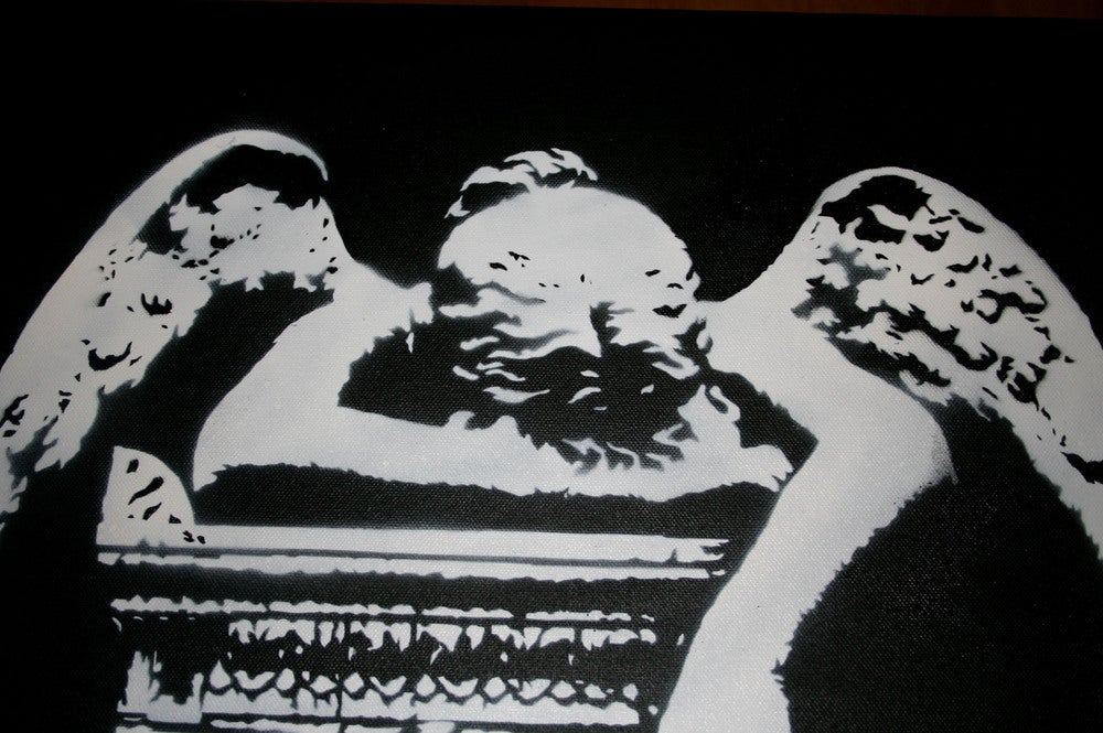 Image of Weeping Angel - Canvas Edition