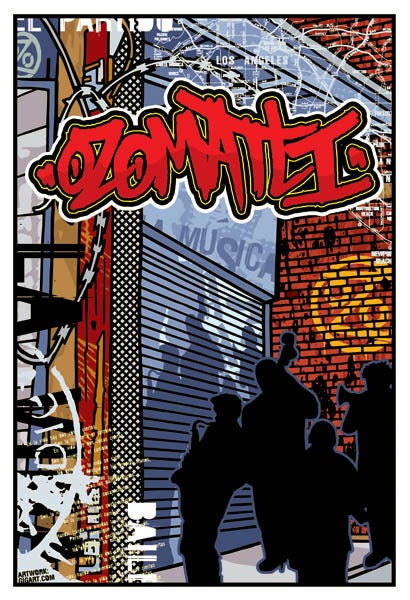 Image of Ozomatli Tour Poster 2002