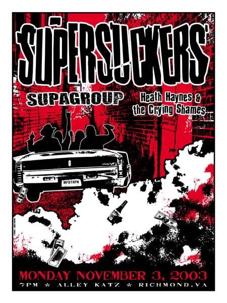 Image of Supersuckers Poster 2003