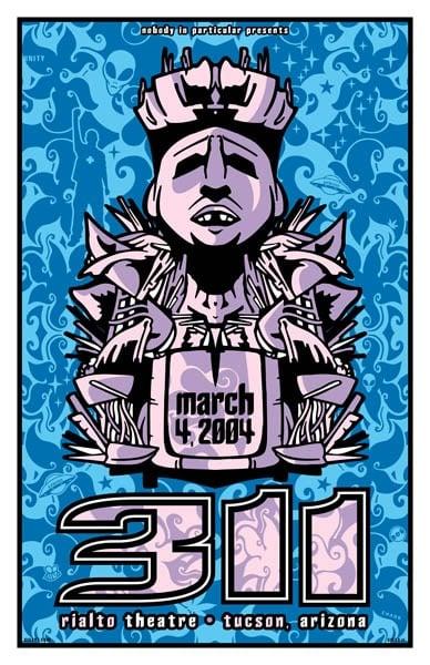 Image of 311 Poster Arizona 2004