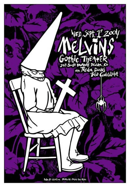 Image of Melvins Purple 2004 Poster