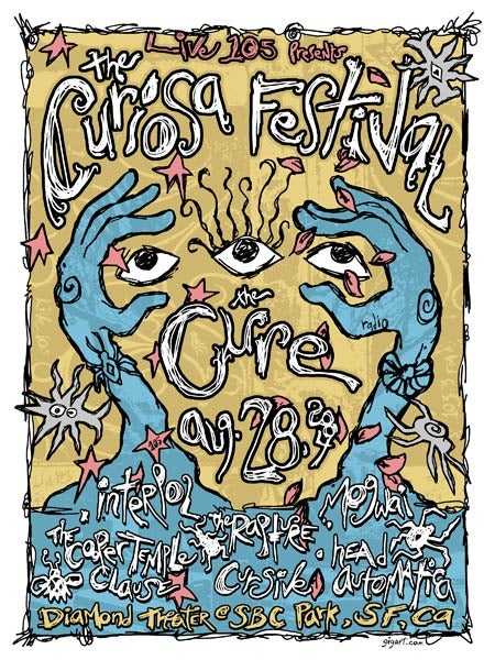 Image of Cure Poster 2004