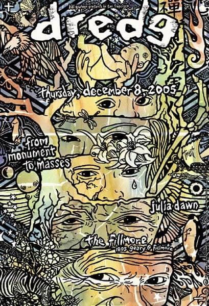 Image of Dredg Poster 2005