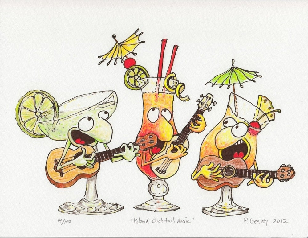 "Image of ""Island Cocktail Music"""