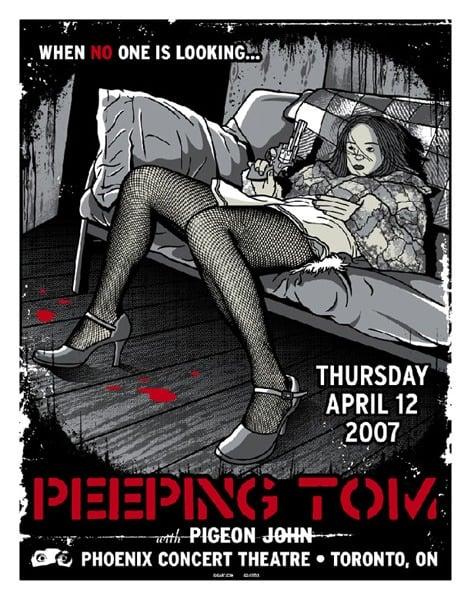 Image of Peeping Tom Poster 2007