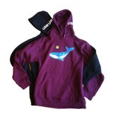 Image of Cosmic Whale hooded