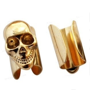 Image of Skull Ear Cuff
