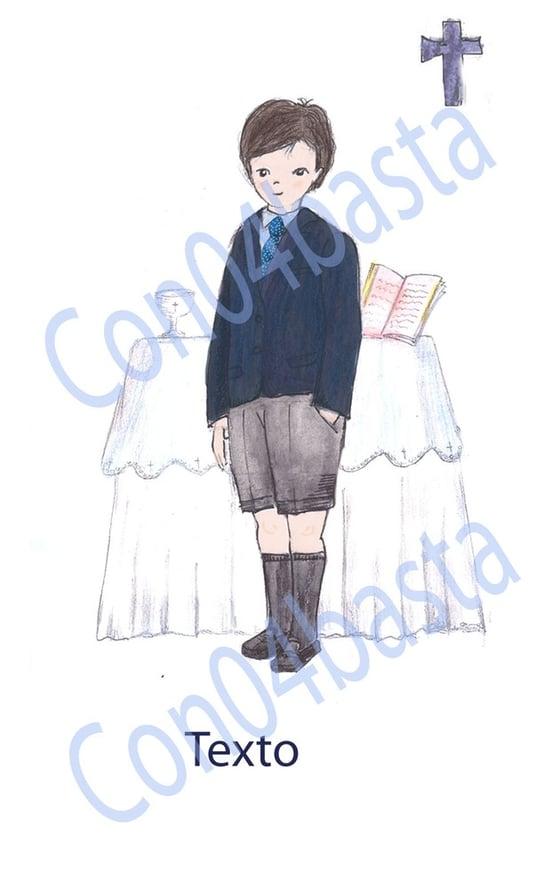 Image of Recordatorios niño